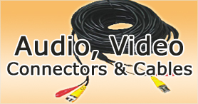 Audio Video Converters, Audio  Video Cables, Audio Video Connectors manufacturer and supplier in india